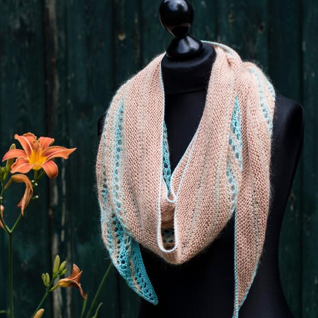 Kremke Soul Wool Garnpaket Tuch Karibikstrand