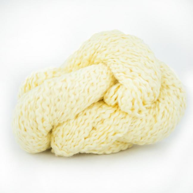 Kremke Soul Wool Andean Mist Cotton Flammé  Banana Cream