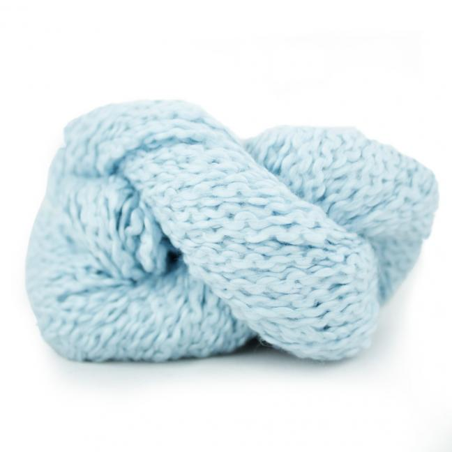 Kremke Soul Wool Andean Mist Cotton Flammé Sky Blue