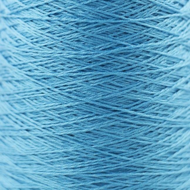 BC Garn Luxor mercerized Cotton 8/2 200g Kone cyan