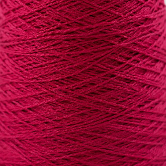 BC Garn Luxor mercerized Cotton 8/2 200g Kone Tiefrot