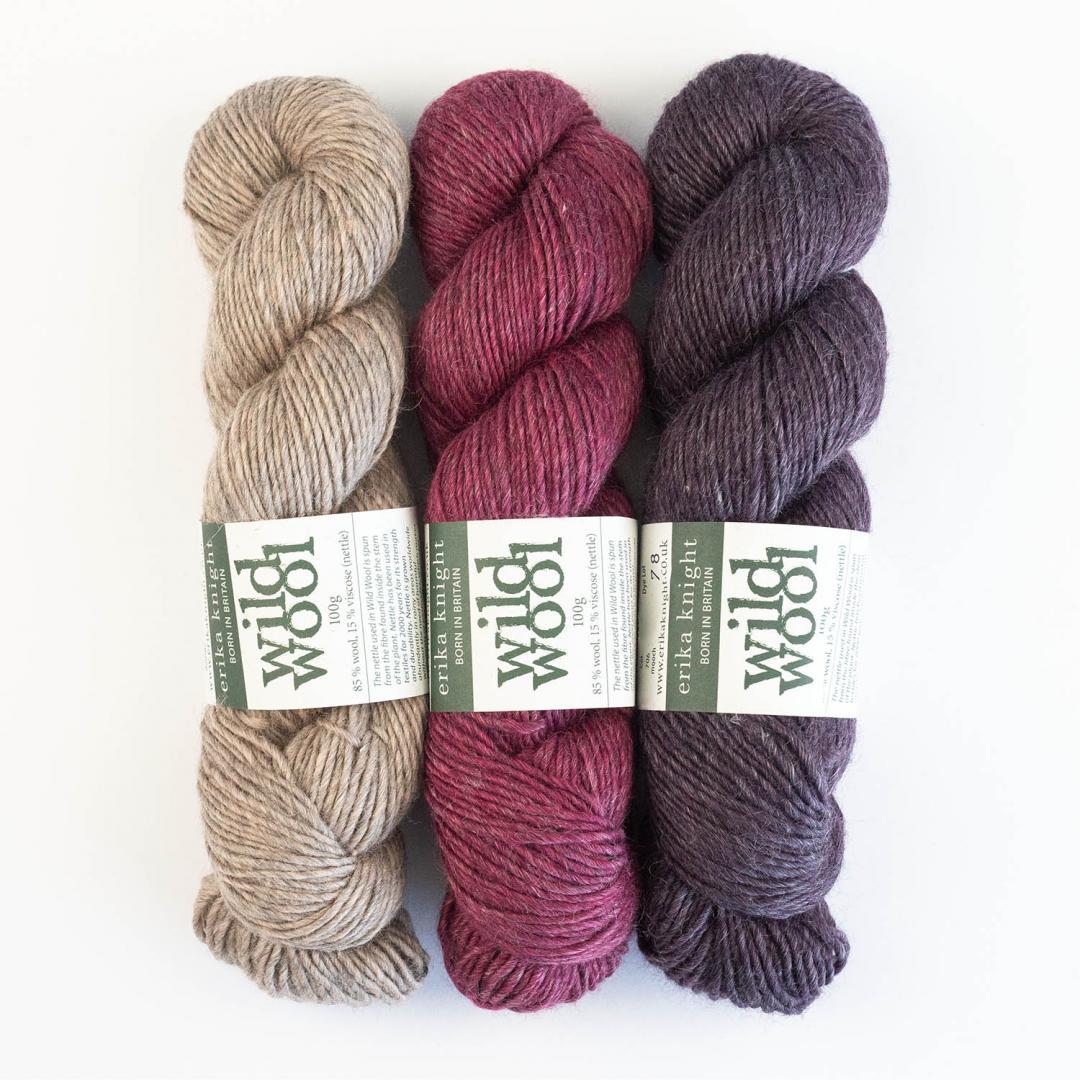 Erika Knight Wild Wool (100g)  amble