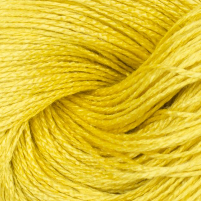BC Garn Jaipur Silk Fino auf 50g-Kone Sonnengelb