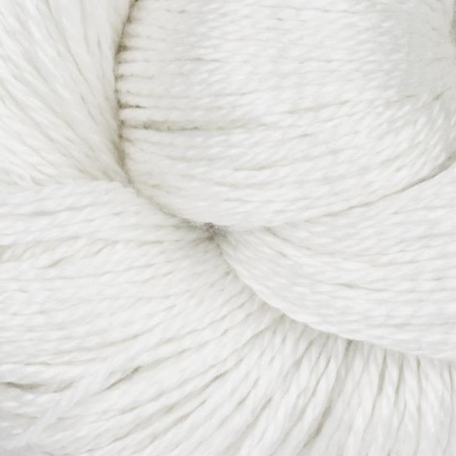 BC Garn Jaipur Silk Fino auf 50g-Kone  reinweiß