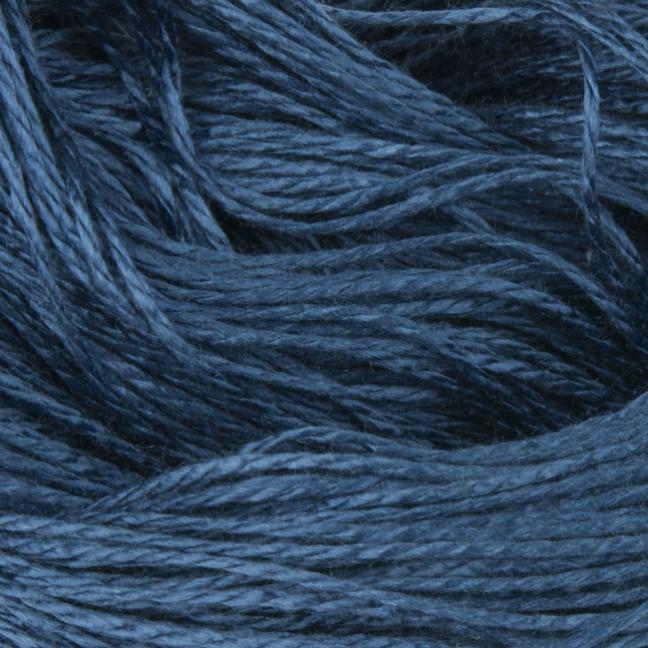 BC Garn Jaipur Silk Fino auf 50g-Kone Jeansblau