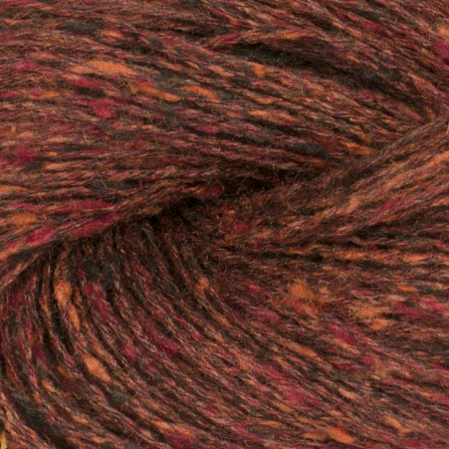 BC Garn Tussah Tweed auf 1kg-Konen brown-fantasie