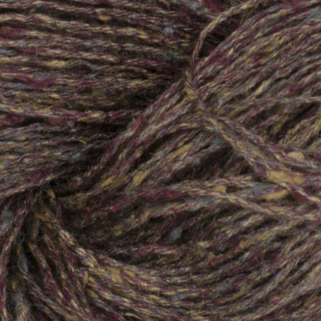 BC Garn Tussah Tweed auf 1kg-Konen grey-Fantasie