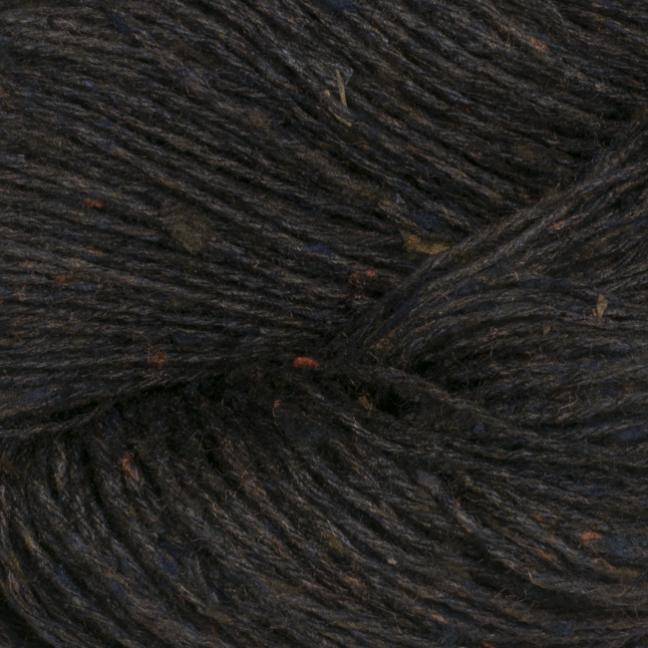 BC Garn Tussah Tweed auf 1kg-Konen schwarz-braun