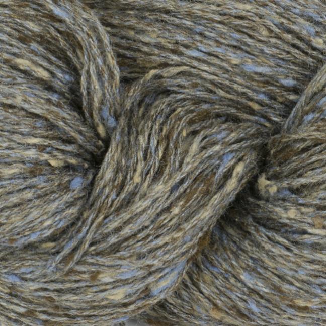 BC Garn Tussah Tweed auf 1kg-Konen brown-grey-nature-mix