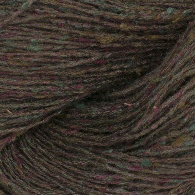 BC Garn Tussah Tweed auf 1kg-Konen brown-creativ-mix