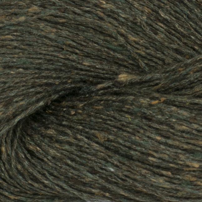 BC Garn Tussah Tweed auf 1kg-Konen forest-green-mix