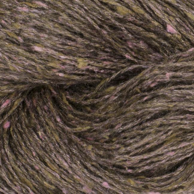 BC Garn Tussah Tweed auf 1kg-Konen brown-earth-mix
