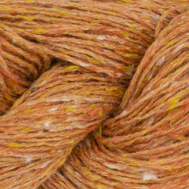 BC Garn Tussah Tweed auf 1kg-Konen  orange