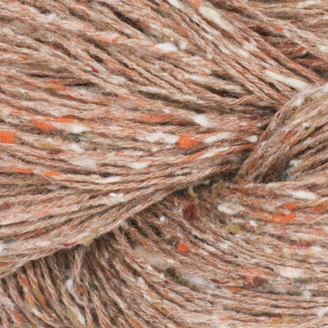 BC Garn Tussah Tweed auf 1kg-Konen browny-mix