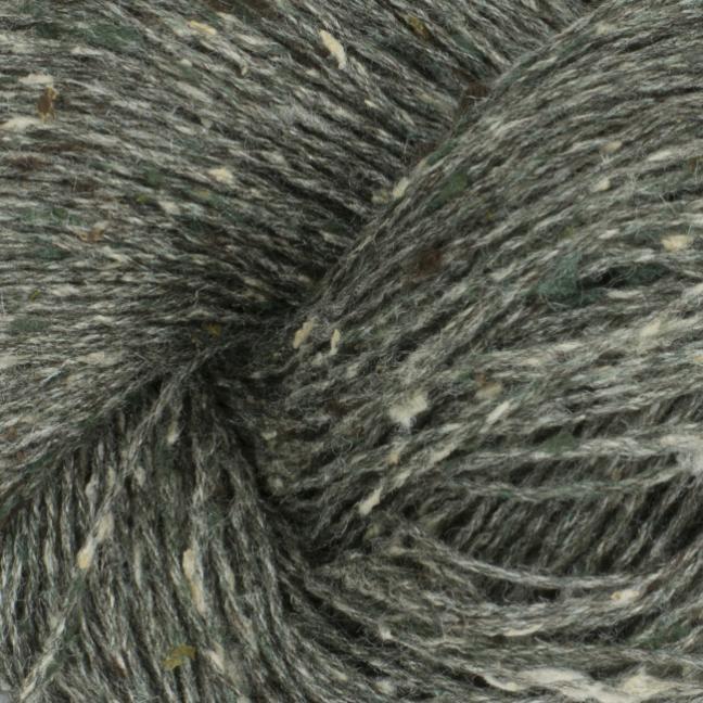 BC Garn Tussah Tweed auf 1kg-Konen grey-turkis-mix
