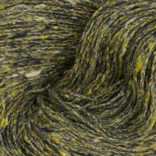 BC Garn Tussah Tweed auf 1kg-Konen yellow-gold-mix