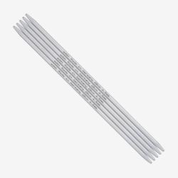 Addi Strumpfstricknadeln 201-7 Aluminium 5mm -20cm