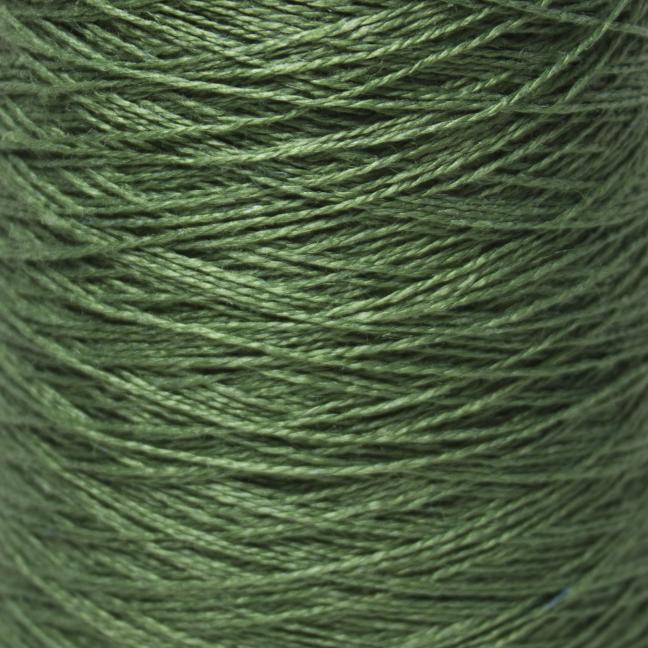 BC Garn Linen 16/2Ne auf 200g Kone Grasgrün