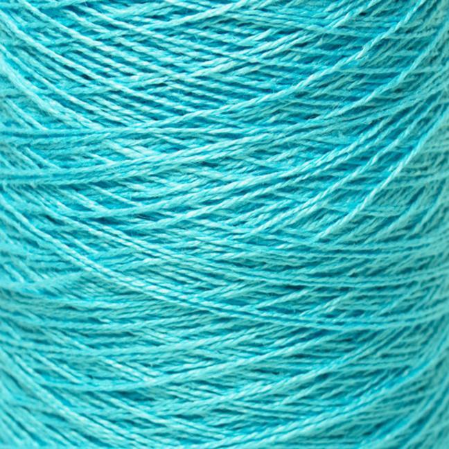BC Garn Linen 16/2Ne auf 200g Kone Leuchtendblau