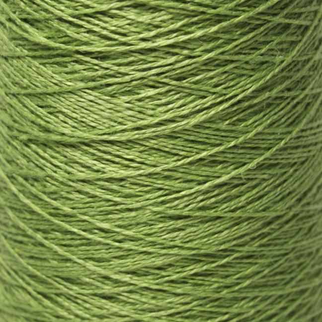 BC Garn Linen 16/2Ne auf 200g Kone Pappelgrün