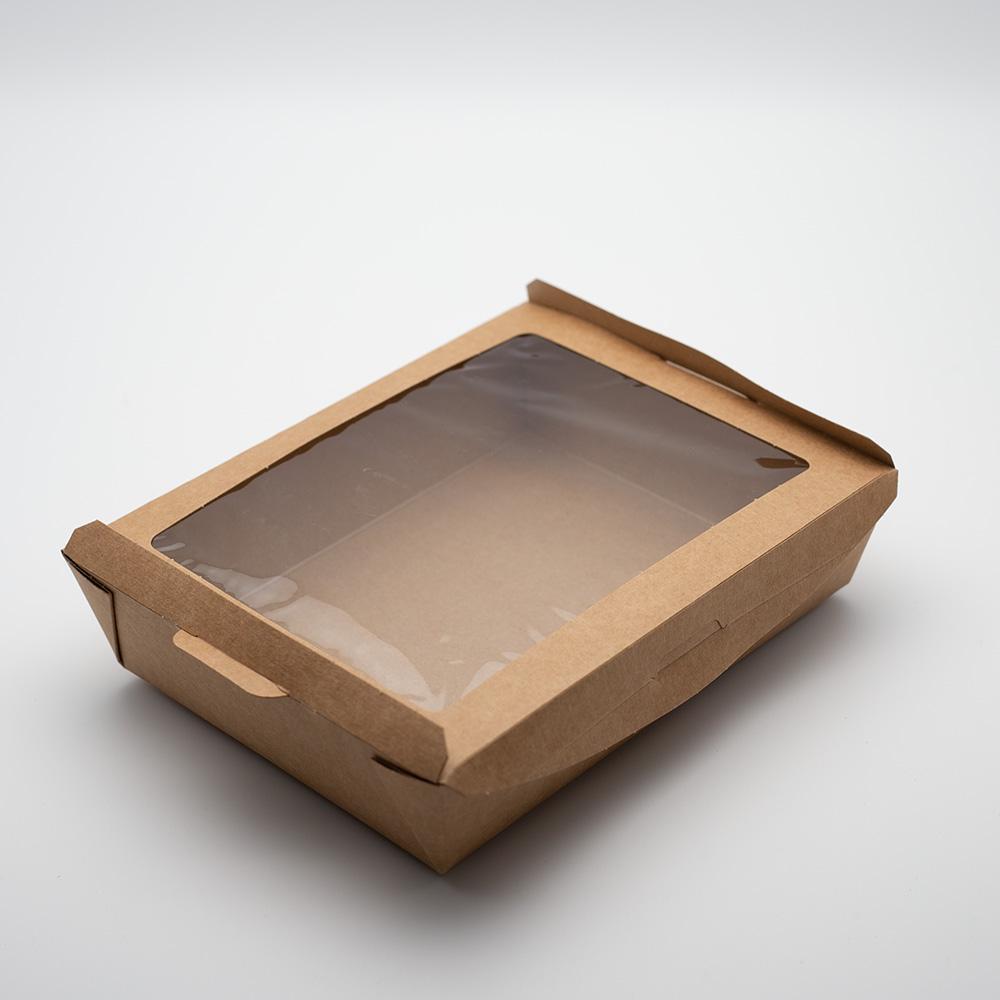 Kremke Soul Wool Schachtel mit Sichtfenster braun