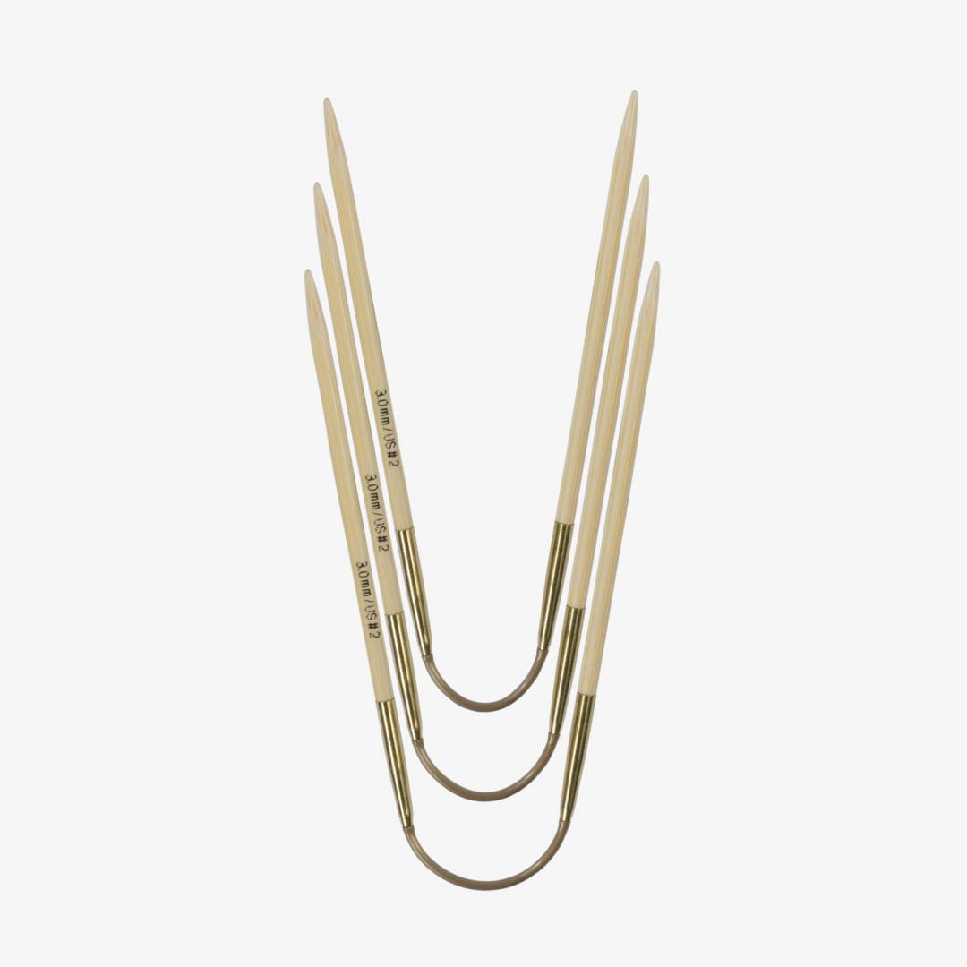 Addi Addi Crazy Trio Bamboo 560-2 3,25mm