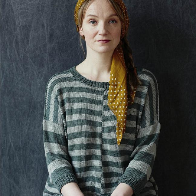 Erika Knight Einzelanleitungen/Patterns Studio Linen Promenade Deutsch Studio Linen