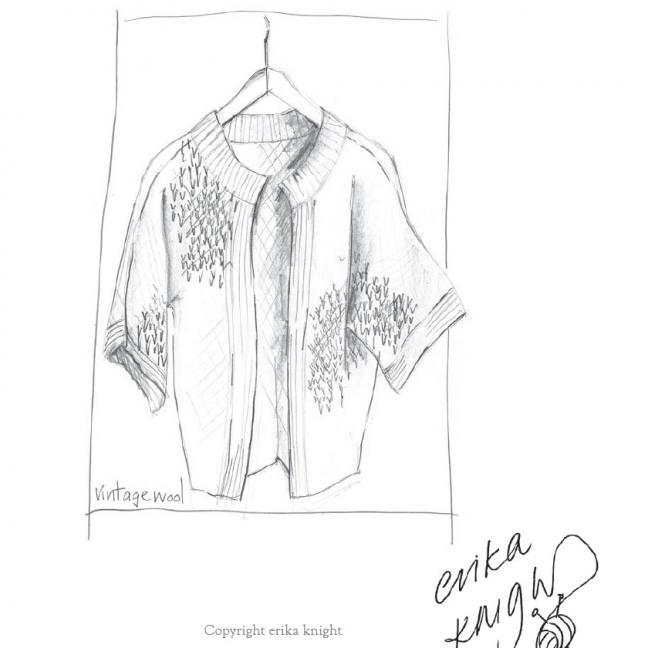 Erika Knight Einzelanleitungen/Patterns Vintage Wool und Fur Wool 20 EdgeJacket Deutsch Vintage Wool