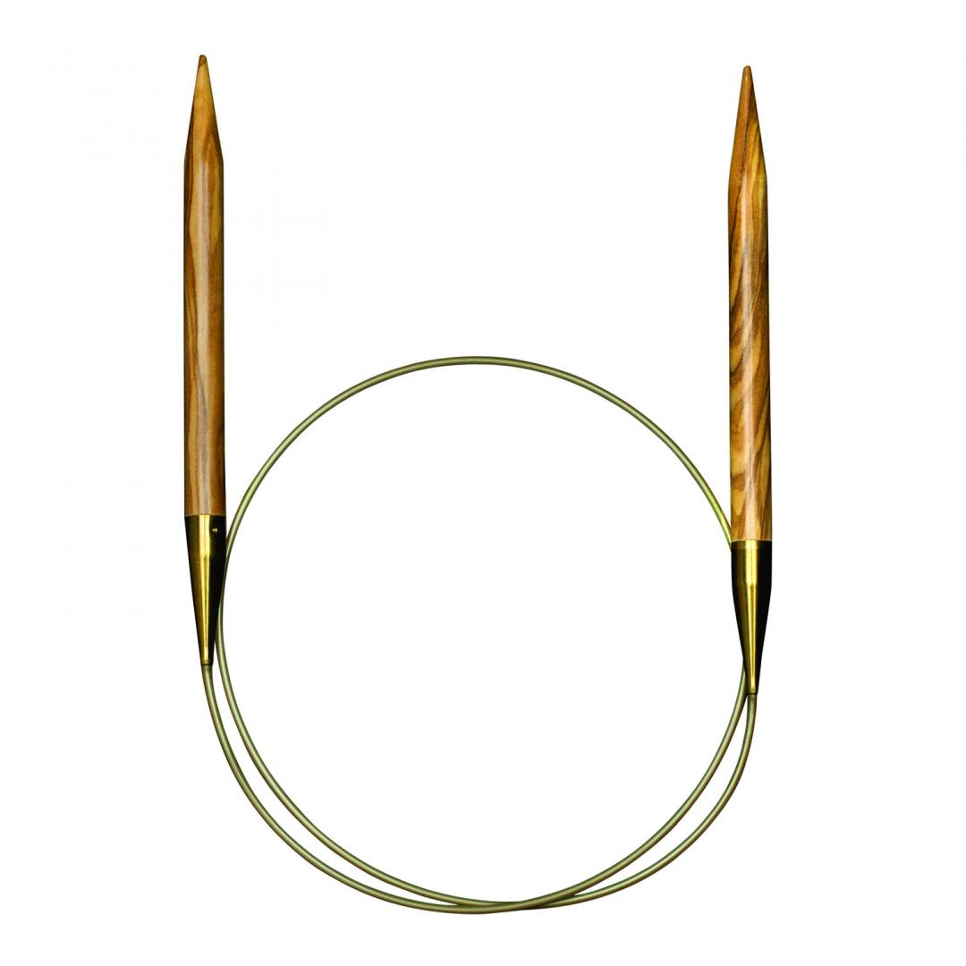 Addi Olivenholzrundstricknadeln 575-7  3mm_60cm