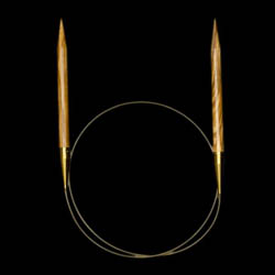 Addi Olivenholzrundstricknadeln 575-7 3,25mm_100cm