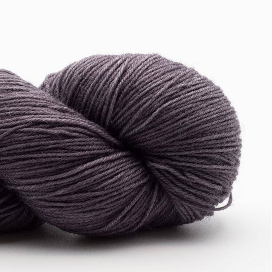 Kremke Soul Wool Lazy Lion Sock Yarn semi solid Steel Grey