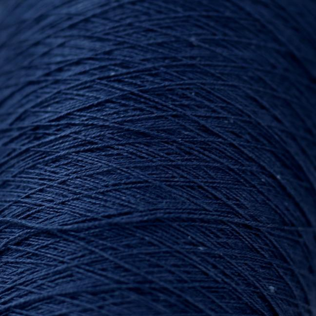 BC Garn Cotton 16/2 200g Kone  Tiefseeblau