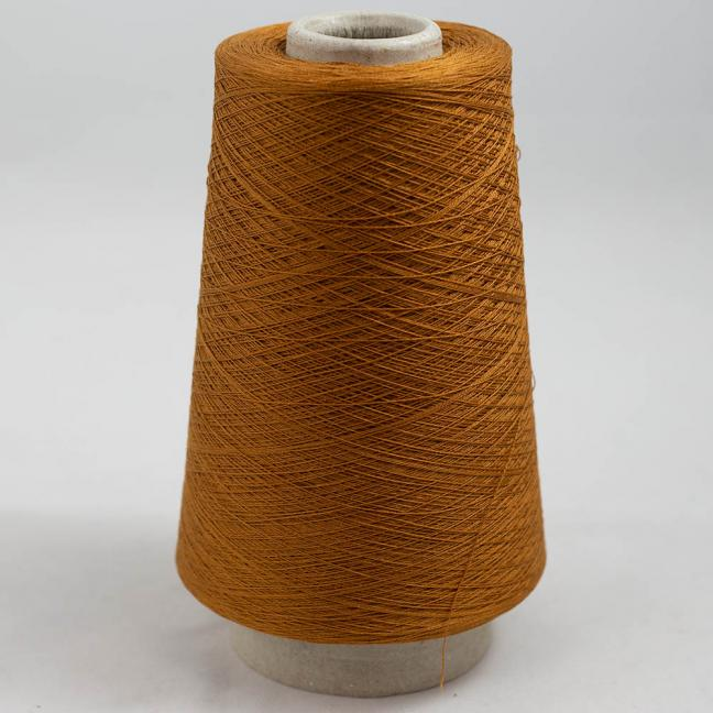 BC Garn Luxor Fino mercerized Cotton 200g Kone Orangebraun