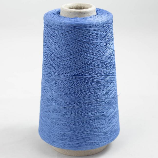 BC Garn Luxor Fino mercerized Cotton 200g Kone Mittelblau