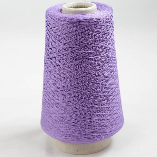 BC Garn Luxor Fino mercerized Cotton 200g Kone Lila