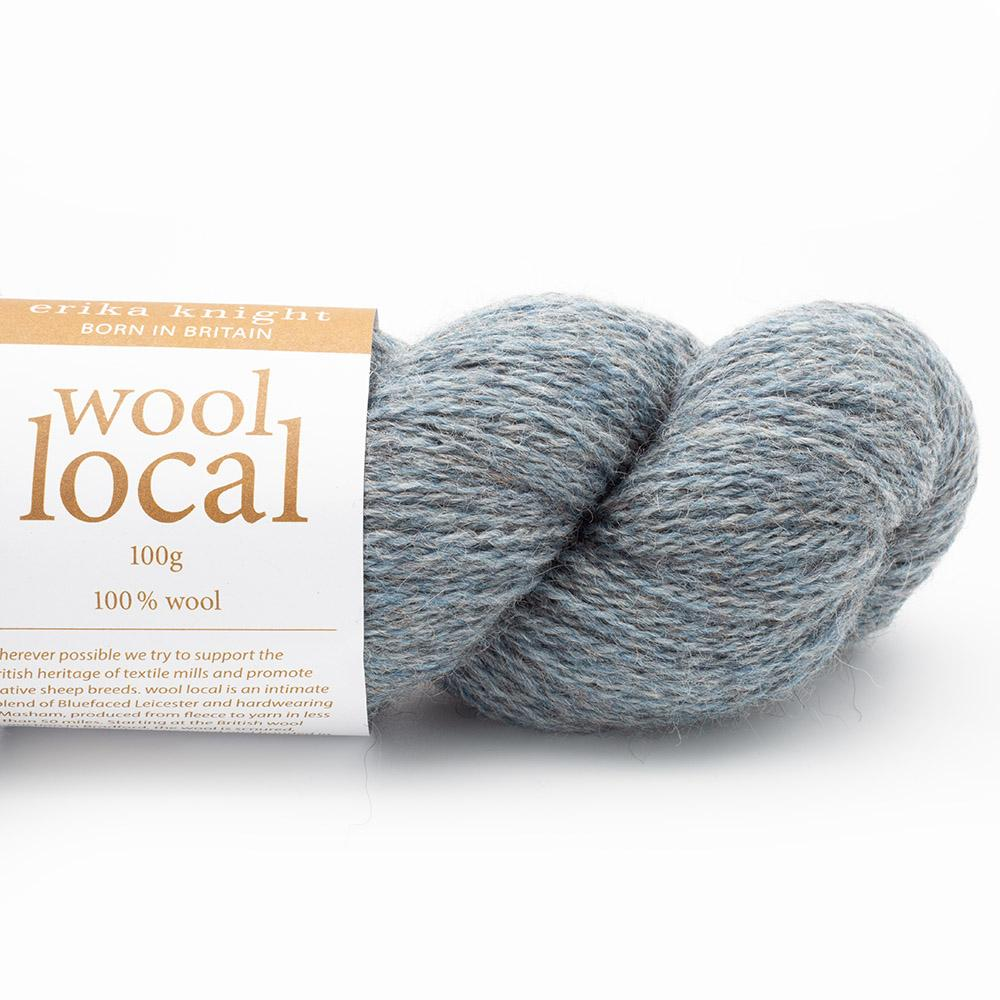 Erika Knight Wool Local (100g)  Bennett Pale Blue