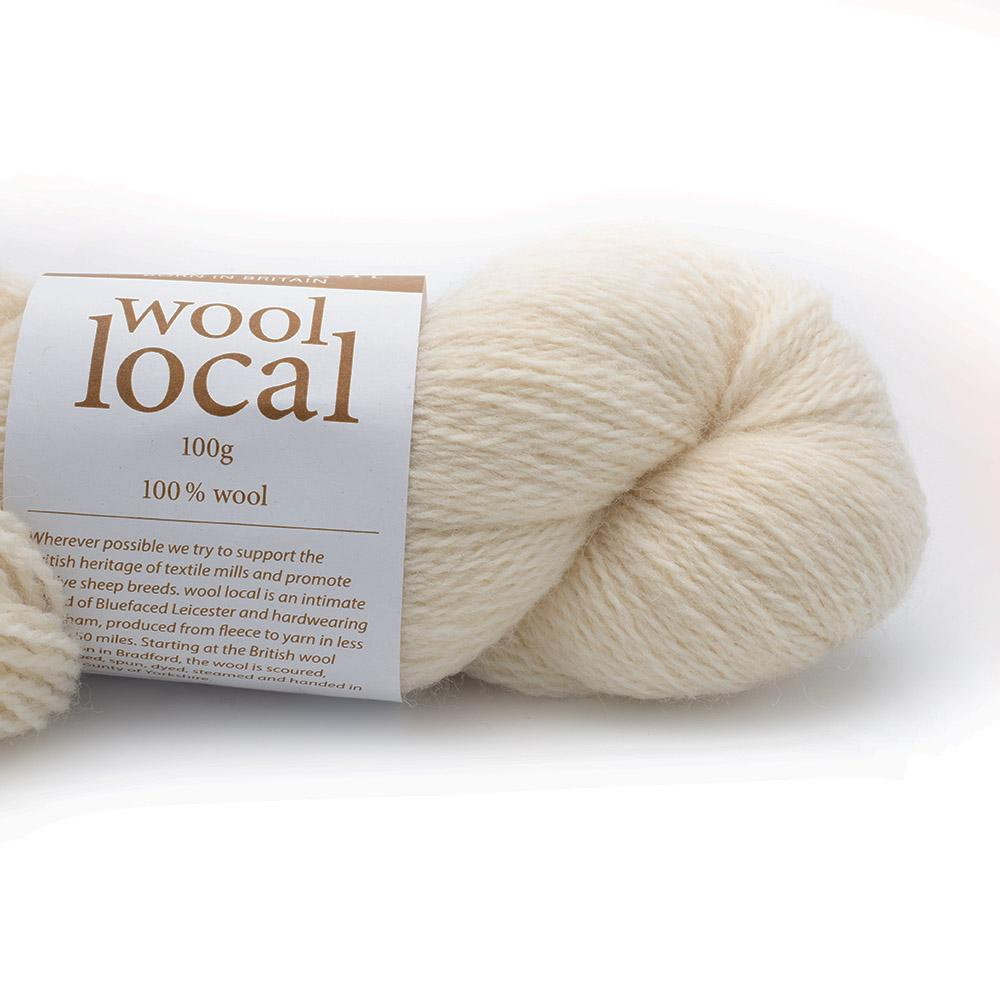 Erika Knight Wool Local (100g) Fairfax Ecru
