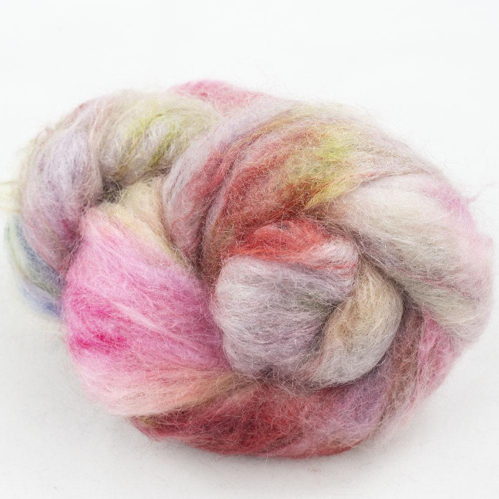Cowgirl Blues Fluffy Mohair Farbverlauf (100g)  Happy Days