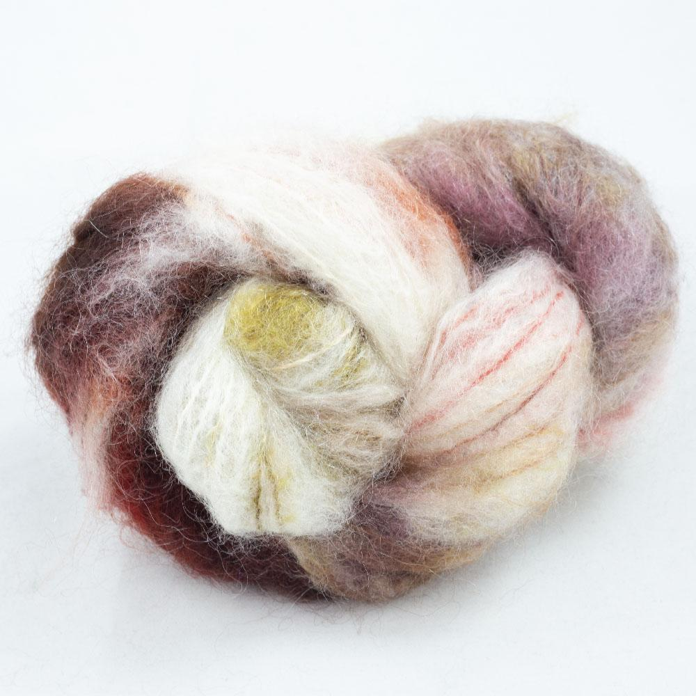 Cowgirl Blues Fluffy Mohair Farbverlauf (100g) Peaches and Cream