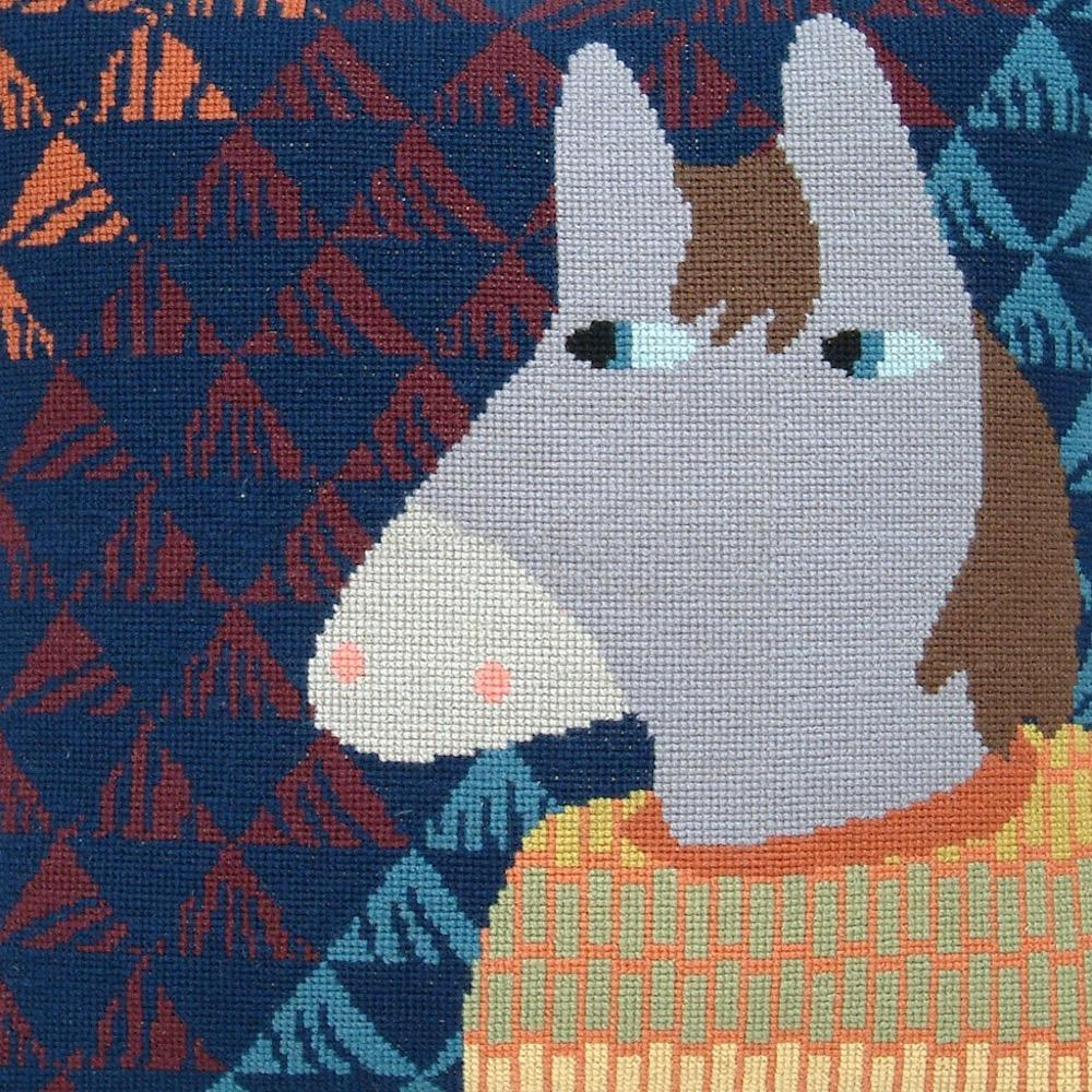 Fru Zippe Pferd Kissen 74 0294  Pferd