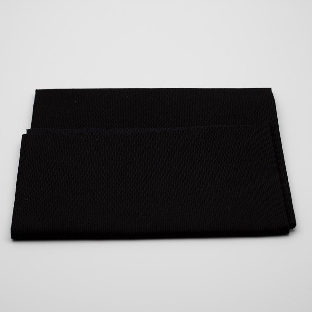 Fru Zippe Rückseitenstoff für Kissen Schwarz