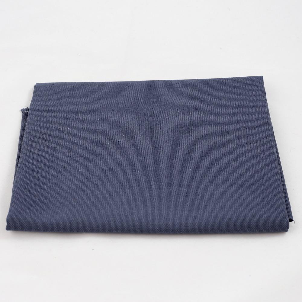 Fru Zippe Rückseitenstoff für Kissen Dunkelblau