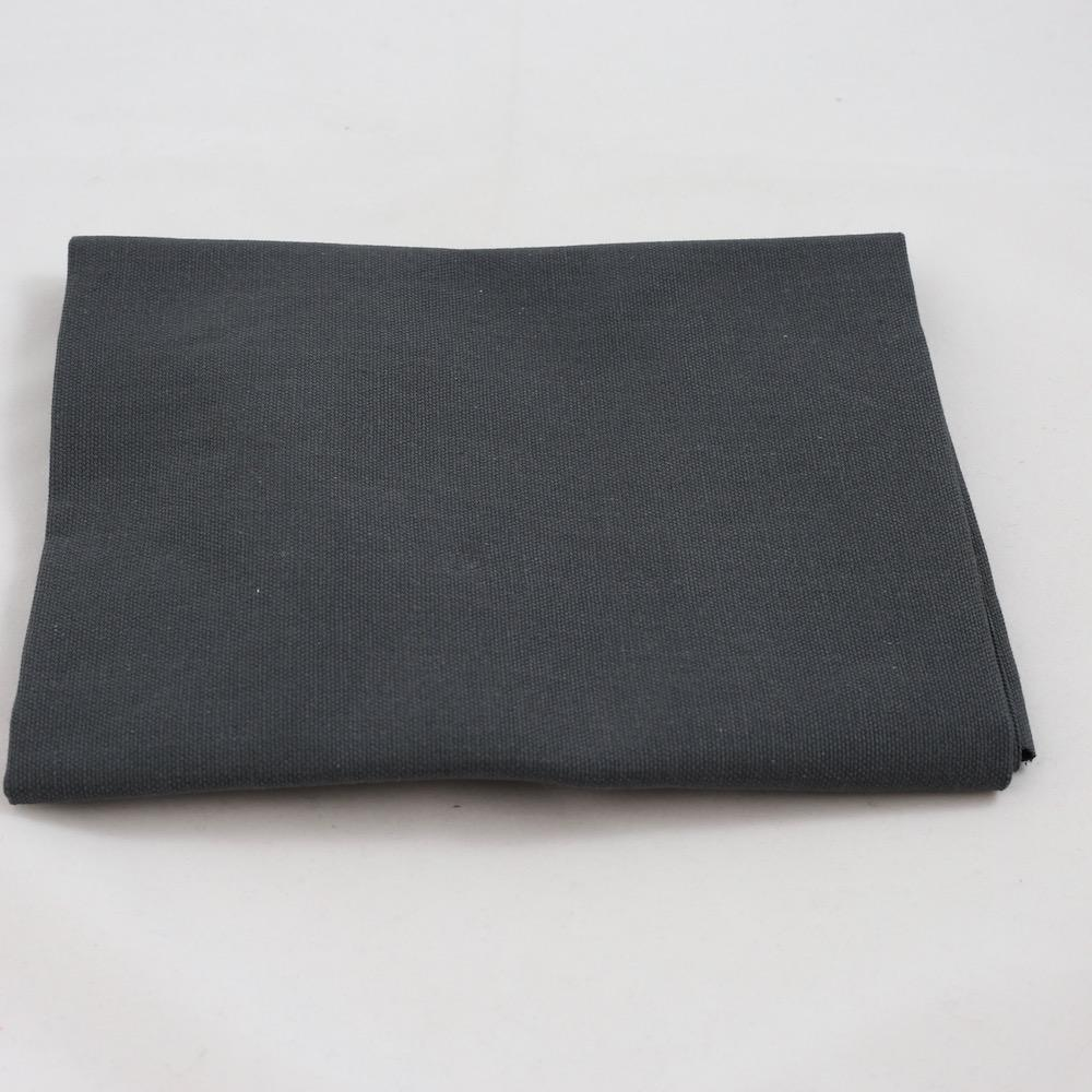 Fru Zippe Rückseitenstoff für Kissen Dunkelgrau