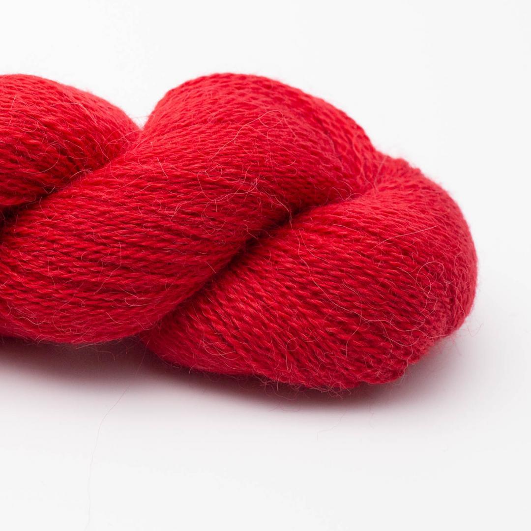 Kremke Soul Wool Babyalpaka Lace Ziegelrot
