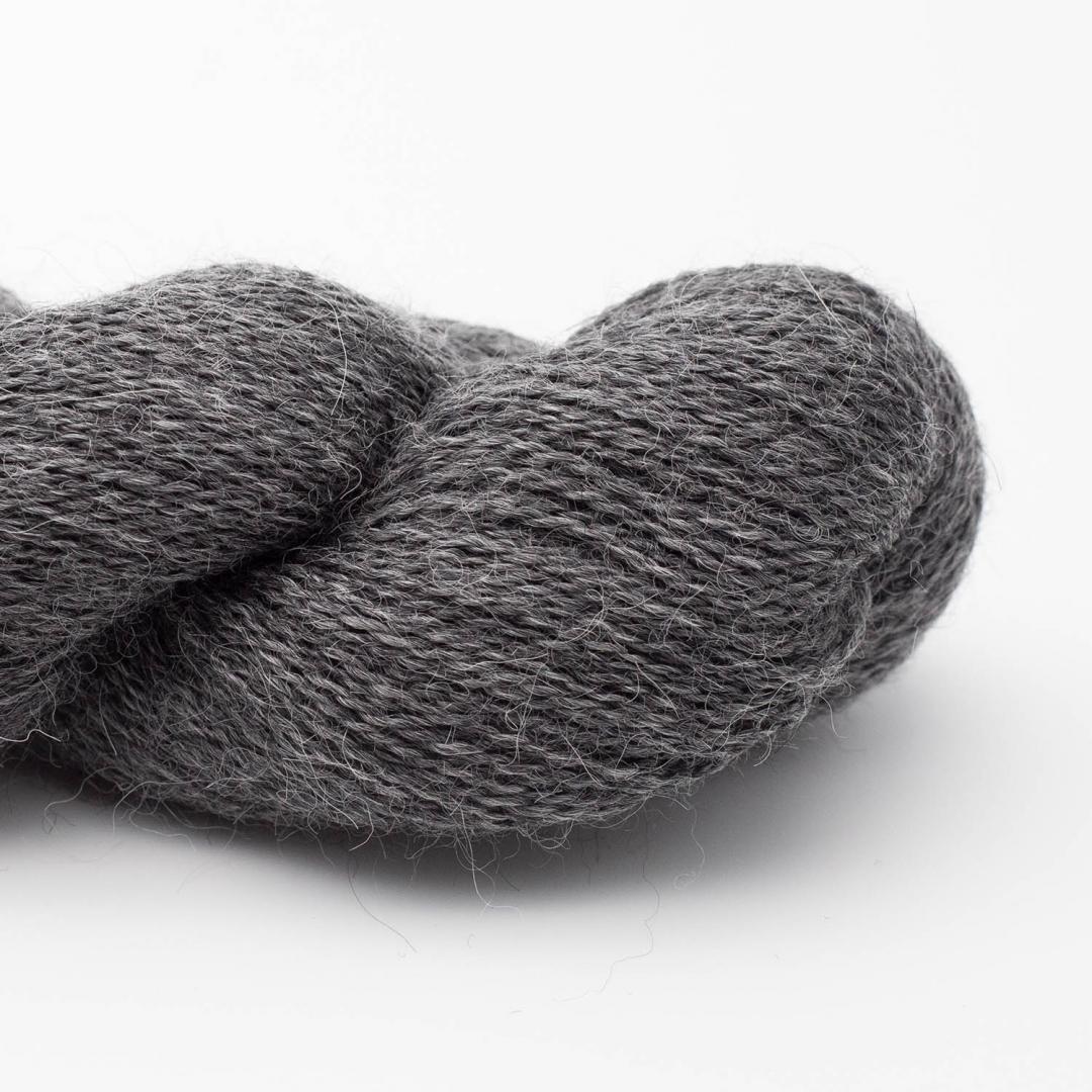 Kremke Soul Wool Babyalpaka Lace Silbergrau