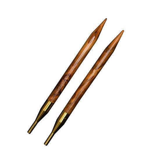 Addi Click Nadelspitzen Olivenholz 570 und 576  3,5mm