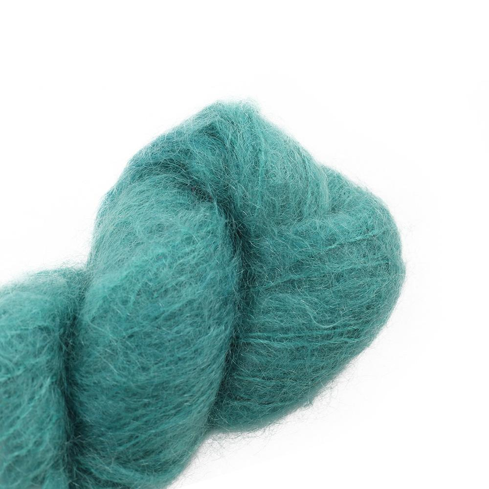 Cowgirl Blues Fluffy Mohair solids (100g) 41-Camps Bay