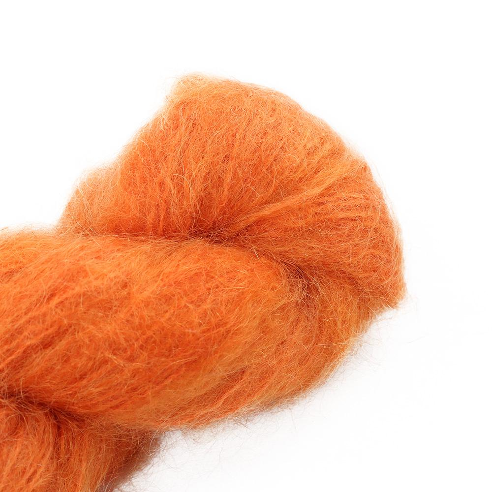 Cowgirl Blues Fluffy Mohair solids (100g) 42-Carrot Juice