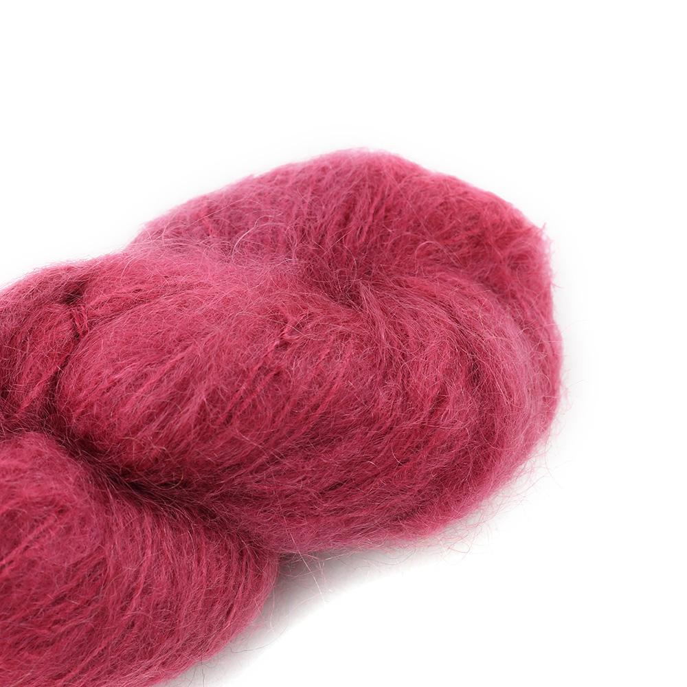 Cowgirl Blues Fluffy Mohair solids (100g) 24-Dusty Rose