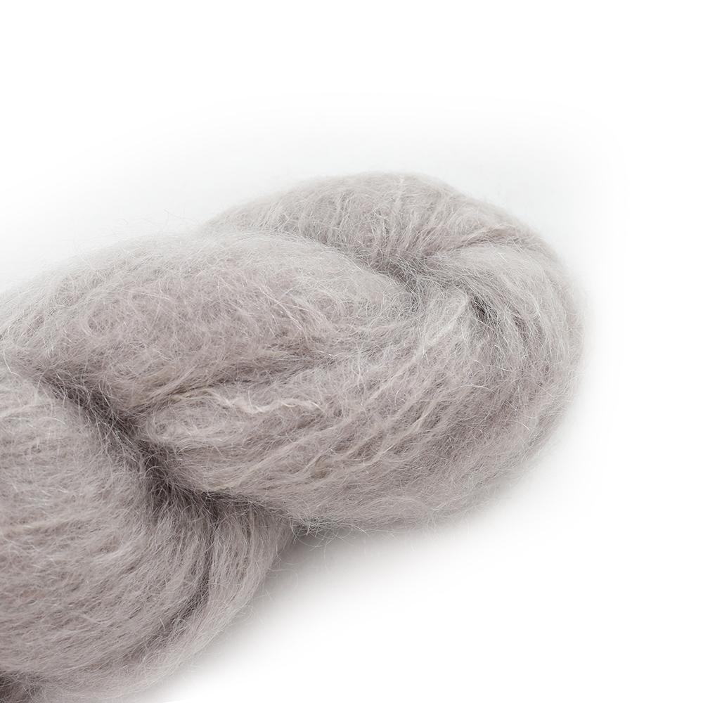 Cowgirl Blues Fluffy Mohair solids (100g) 04-Sable